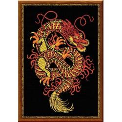 Riolis  kit Dragon | Riolis 1230 | Broderie du monde