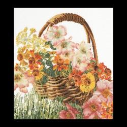 Flower  Basket  3064  Lin  Thea Gouverneur