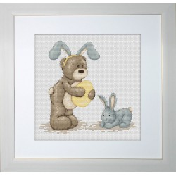 Bruno  en  lapin  de  pâques  B1016  Luca-S