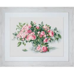 Bouquet  de  Roses  roses  BL22866  Luca-S