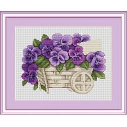 Brouette  de  Violettes  B259  Luca-S