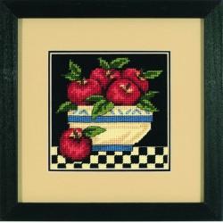 Un  saladier  de  pommes  7191  Dimensions