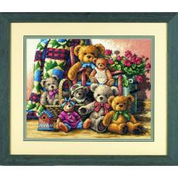 Rassemblement  d'ours  en  peluche  35115  Dimensions