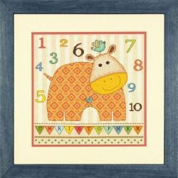 Bébé  hippopotame  123,  70-73989  Dimensions