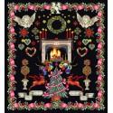 Christmas  Design  2077.05  Thea Gouverneur  Aida noir 7.2