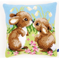 Coussin  Petits  lapins  0021437  Vervaco