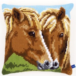 Coussin  Chevaux  0150680  Vervaco