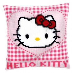 Coussin  Hello  Kitty  et  cœur  0148211  Vervaco