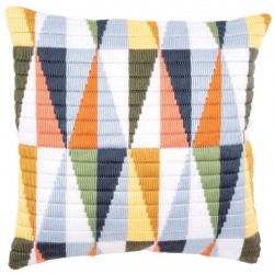 Coussin  Triangles  0147911  Vervaco