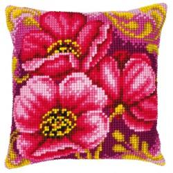 Coussin  Bouquet  Anémones  0008500  Vervaco