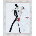 Riolis  kit Tango de mariage   Riolis 1179   Broderie du monde