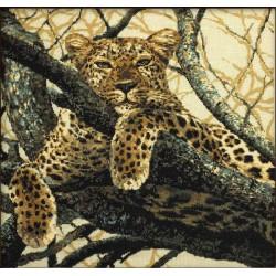 Kit point de croix  Leopard 937  Riolis