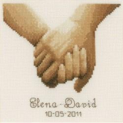 Main  dans  la  main  0012167  Vervaco