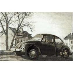 Vintage  voiture  Coccinelle  1177  Riolis