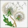 Riolis  kit  Graines de pissenlit | Riolis 1319 | Broderie du monde