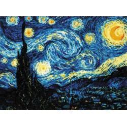 Riolis  kit Starry Night | Riolis  1088 | Broderie du monde