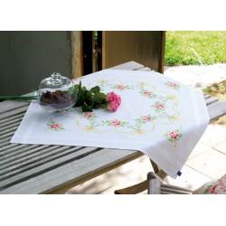 Guirlande  de  roses  0150104  Vervaco  5413480437856