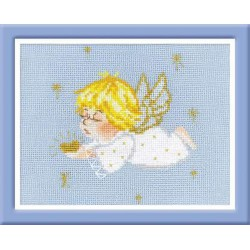 Riolis  kit Ange avec coeur | Riolis  1135 | Broderie du monde
