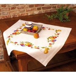 Nappe  imprimée  Fruits  Vervaco  0013301