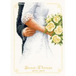 Bouquet  de  mariée  0149274  Vervaco