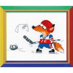 Riolis  kit Hockey sur glace | Riolis HB-144 | Broderie du monde