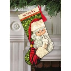 Chaussette  Père  Noël  secret  70-08938  Dimensions