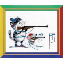 Riolis  kit Biathlon | Riolis HB-145 | Broderie du monde