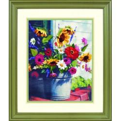 Seau  de  fleurs  1534  Dimensions