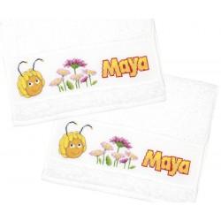 Serviette  de  bain  Maya  l'abeille  0150873  Vervaco