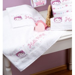 Serviette  de  bain  Hello  Kitty  0148214  Vervaco