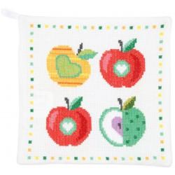 Maniques  pommes  colorées  0150536  Vervaco
