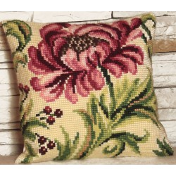 Coussin  Rose  sauvage  droite  5.009  Collection d'art