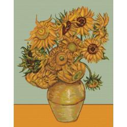 Les  Tournesols  d'après  Van Gogh  B422  Luca-s