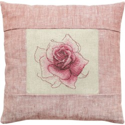 Coussin  Rose  PB113  Luca-s