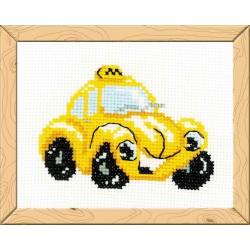Riolis  kit  Taxi | Riolis HB-107 | Broderie du monde
