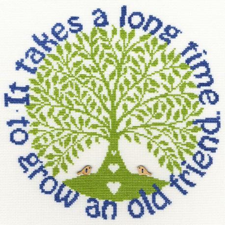 Friendship  tree  XST1  Bothy Threads