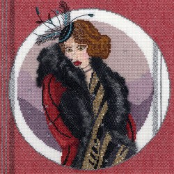 Roaring  twenties  Scarlett  XRT2  Bothy Threads