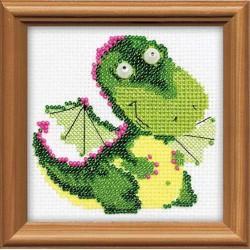 Riolis  kit  Petit dragon | Riolis 1220 | Broderie du monde