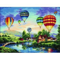 Dimensions  Lueur  de  montgolfières  35213