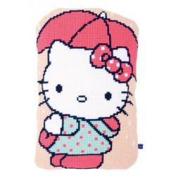 Coussin  Hello  Kitty  Sous  le  parapluie   0155203  Vervaco