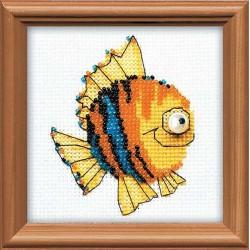 Riolis  kit  Petit poisson | Riolis 1166 | Broderie du monde