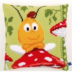 Coussin  Willy  sur  le  champignon  0155176  Vervaco