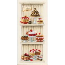 Délicieux  gâteaux  0150672  Vervaco