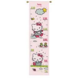 Toise  Hello Kitty  fun  sous  la  pluie  0155627  Vervaco