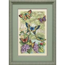 Dimensions  Forêt  de  papillons  35223
