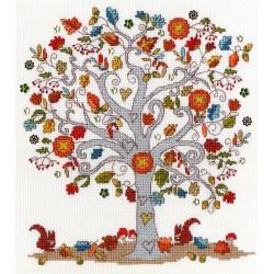Love  Autumn  XKA12  Bothy Threads