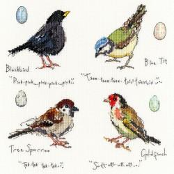 Garden  birds 2  XMF2  Bothy Threads