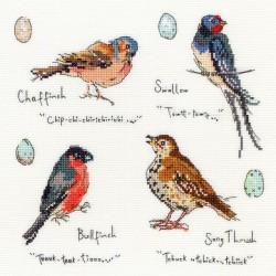 Garden  birds   XMF3  Bothy Threads