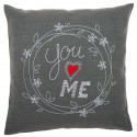 Kit  coussin  You  and  Me  0156053  Vervaco