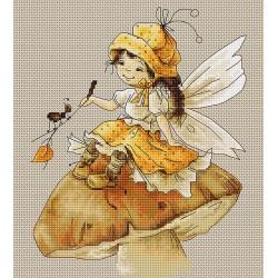 La  fée  sur  le  champignon  B1109  Luca-S